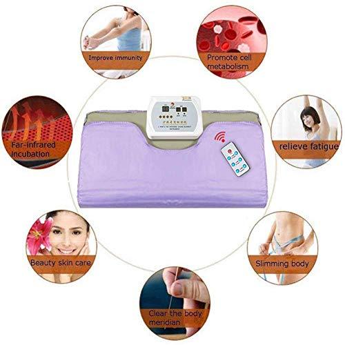 Qiye verwarmingsdeken voor sauna, infrarood, schoonheidssalon, ontgifting en ontvochtiging, stoom voor woonkamer en huis, beautymachine, anti-aging, spa
