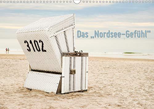 """Das\""""Nordsee-Gefühl\"""" (Wandkalender 2021 DIN A3 quer)"""