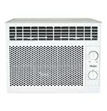 Haier 5,050 BTU Mechanical Window Air Conditioner for Small Rooms up to 150 sq ft, White
