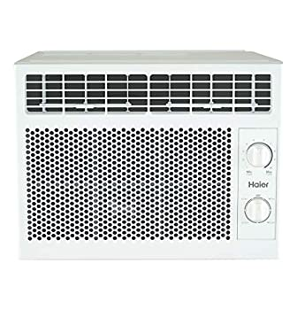 Haier 5,050 BTU Mechanical Window Air Conditioner for Small Rooms up to 150 sq ft 5000 115V White