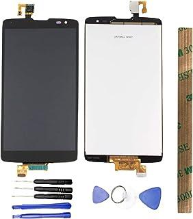 JayTong شاشة LCD واستبدال محول رقمي لشاشة تعمل باللمس مع أدوات مجانية لـلـ L G G Vista VS880 Verizon/G Pro 2 Lite D631 أسود