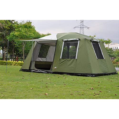 ZHJLOP tent Outdoor Portable Camper Trailer Self-driving Waterproof Awning Beach Canopy Aluminum Tent Large Gazebo Sun Shelter