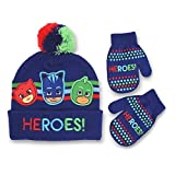 Toddler Boys' PJ Masks 'HEROS!' Winter Hat and Mitten Set