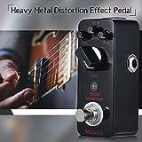 Fesjoy RAGE MACHINE Heavy Metal Distortion Pedal de efectos de guitarra True Bypass Full Metal Shell