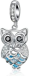 Original 100% 925 Sterling Silver Charm Bead Love Animal Charm Family Birthday fit Pandoras Bracelets DIY Charms