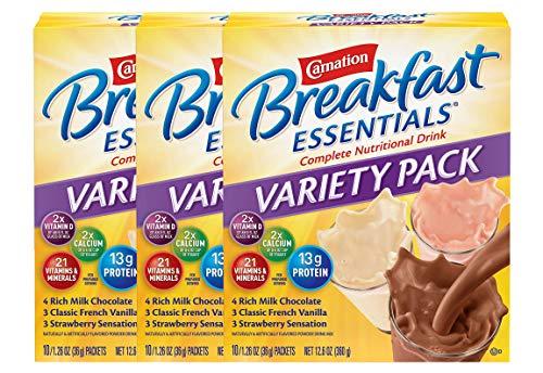6. Carnation Breakfast Essentials Powder Drink Mix
