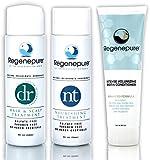REGENEPURE - DR Shampoo, 8 Ounces + NT Shampoo, 8 Ounces + Biotin Conditioner, 8 Ounces set (8 fl oz)