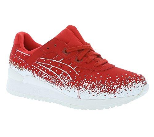 Asics Gel Lyte III Damen Sneaker rot weiß - 9½