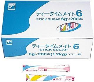 三井製糖 シュガーティータイム 6g 200本 8112