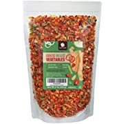 Gourmanity 2 lb Dehydrated Mixed Vegetables, All Natural, Gluten Free & Allergen Free, Dried Vegetable Soup Mix, Dried Ramen Vegetables, Dried Vegetables For Soup, Vegetable Soup Mix Dried Kosher