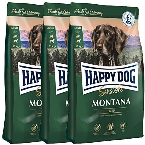 Happy Dog 3 x 10 kg Supreme Sensible Montana