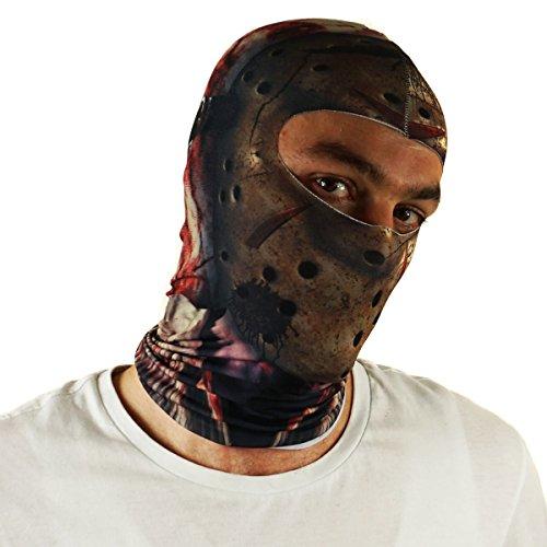 Ferocity Ferocity Multifunktion Gesichtsmaske Kapuzenmütze Sport Balaclava Skimaske Maske Killer [076]