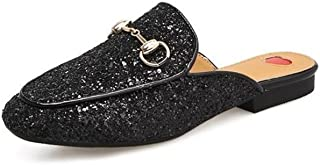 lcky Lok Fu Shoes Sequined Shoes Popular Women's Shoes Outdoor Slippers Slip