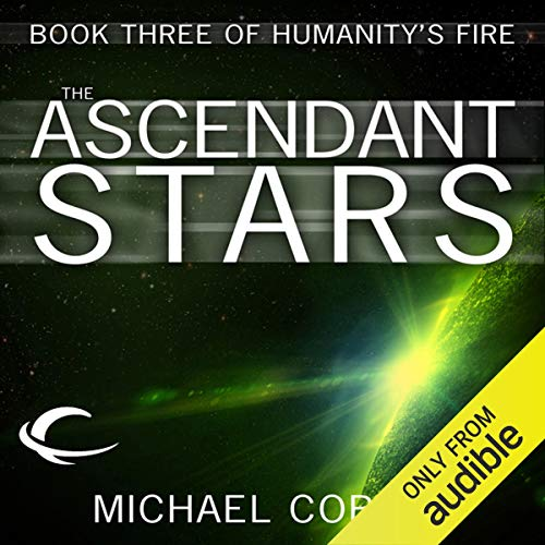 The Ascendant Stars audiobook cover art