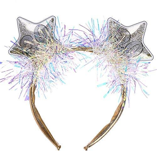 LIUCHANG Star Headband, 2020 Number NEWJEED EVE Fünf-Punkte-Star-Stirnband-Haar-Reifen for Mädchen/Frauen liuchang20