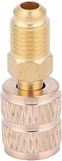 Adaptador de Refrigeración Conexión Rápida Latón Conector Recto Para Aire Acondicionado Refrigerador R410A AC(410 to British Standard)