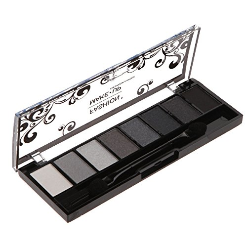 Make-up-Palette–8Lidschatten, Farbton und Farbverlauf Grau