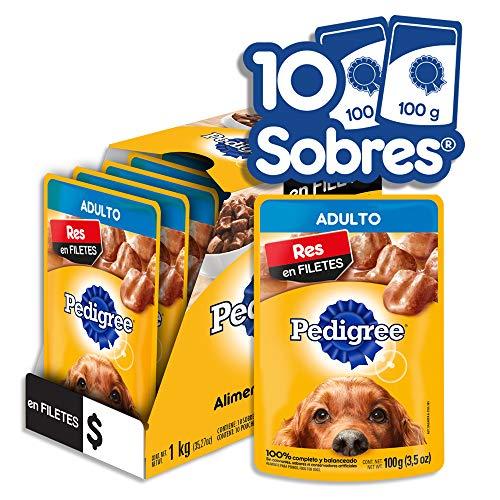 sobre de alimento para perros fabricante PEDIGREE