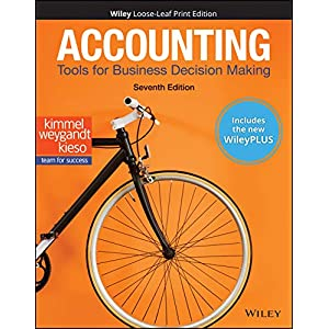 Accounting: Tools for Business Decision Making, WileyPLUS NextGen Card with Loose-leaf Set Single Semester: Tools for Business Decision Making