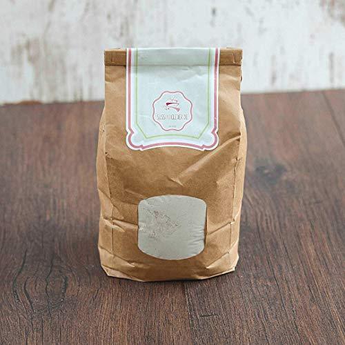 süssundclever.de® Bio Quinoamehl | Vollkorn | weiß | 1,0 kg | plastikfrei und ökologisch-nachhaltig abgepackt