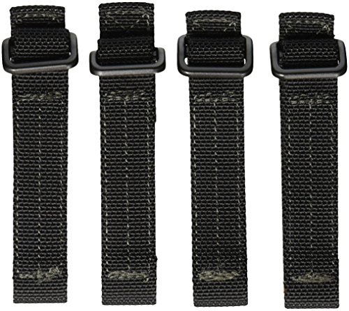 Maxpedition 3-Inch TacTile - Pack Of 4 (Black)