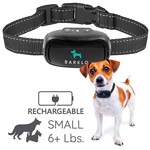 Barklo Small Dog Bark Collar for Small to Medium...