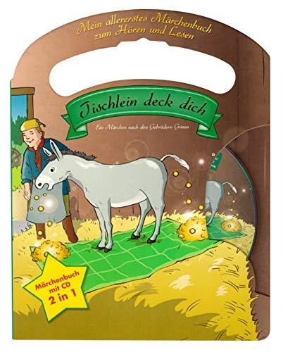 Mein allerliebstes Märchenbuch Tischlein deck dich mit Tragegriff und Audio CD