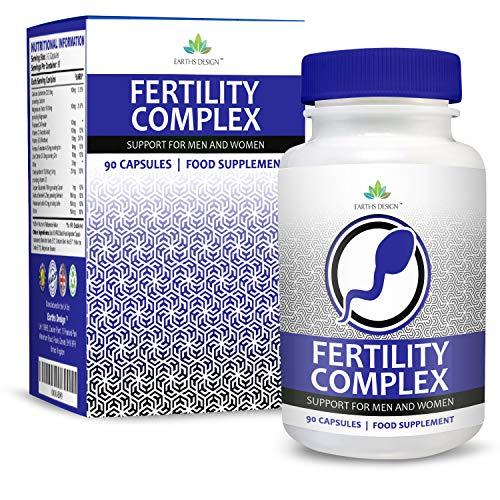 Vitaminas Fertilidad - Suplemento Para Hombres Mujeres
