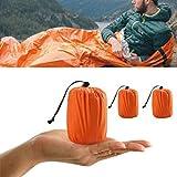 ELECTROPRIME 1 X Reusable Emergency Sleeping Thermal Waterproof Survival Camping Travel Bag