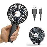 VersionTECH. Hand Held Fan,Desk fan,Portable USB Fan Mini Foldable Desktop Table Cooling Hand Fan, 3 Speeds...