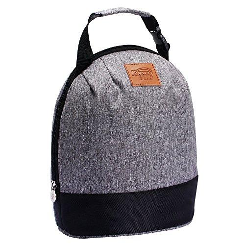 Prochive Sac Isotherme / Sac à Déjeuner Repas / Lunch Bag / Sac Fraîcheur Portable - Gris