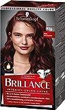 Brillance Intensiv-Color-Creme Haarfarbe 876 Edel-Mahagoni Stufe 3, 3er Pack(3 x 160 ml)