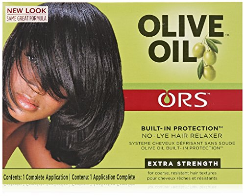 ORS Olive Oil Built-In Protection Full Application No-Lye Hair Relaxer Extra Strength