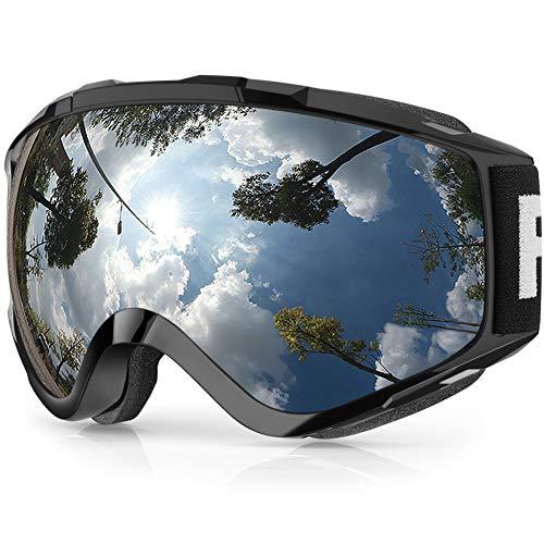 Gafas de Esquí,Findyway Máscara Gafas Esqui Snowboard Nieve Espejo para Hombre Mujer Adultos Juventud Jóvenes OTG Compatible con Casco,Anti Niebla 100{ba5d86edcbcdc3a84ef565528f9eb5f73ebcae51322229e72a1742a03a97930d} Protección UV Gafas de Ventisca