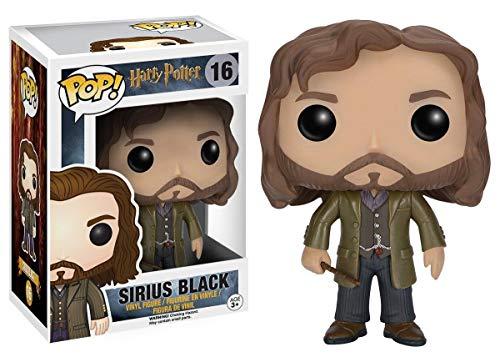 USA OFFICIAL Funko Pop Sirius Black 16 Figuras 9 cm Harry Potter Cine Caja Marrón