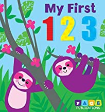 Page Publications Collection - My First 123 Padded Board Book - Early Numbers Learning for Children - Gift Ideas for Toddl...