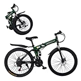 Best Foldable Bikes - [𝐔𝐒 𝐢𝐧 𝐬𝐭𝐨𝐜𝐤] Mountain Bike 26in 21 Speed Review