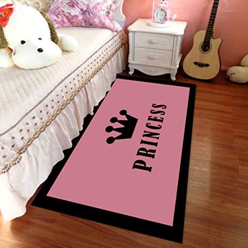 llh Alfombra para habitación de niños Alfombra de corazón
