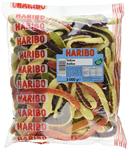 Haribo Yellow Belly Giant Snakes...
