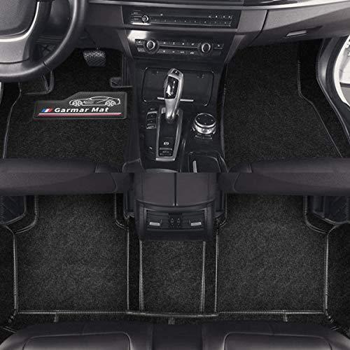 Garmar Carpet Car Floor Mats for Mercedes Benz GLA-Class,Custom Full Set Fit Front & Rear 2 Rows Carpet Car Floor Cargo Liner for 2015-2019 Mercedes-Benz GLA-Class, Mercedes-Benz GLA-Class Mats