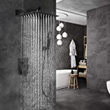 EMBATHER Black Shower System 12 Inches