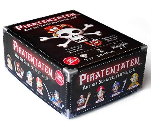 creo worlds PiratenTaten - das lustige Kartenspiel um Schätze, Piraten und Jede Menge Seemannsgarn