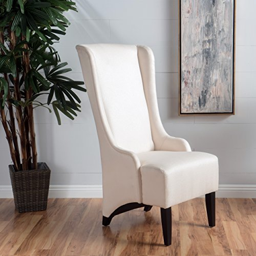"""Christopher Knight Home Callie Dining Chair, 23.25"""" x 28.75"""" x 46.25"""", Beige"""