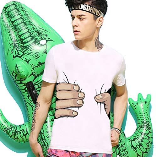 Funny t-Shirt for Wen, 3D Printed Big Hand Grab Waist Hand Sign Language Hand Talking Teachers Interpreter T Shirt: Charm Toddler Brush Teeth English - Robert Onesie Framed Hamsa Brass White