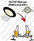 Filter Leinwand für Staubsauger Ghibli Typ ASL7