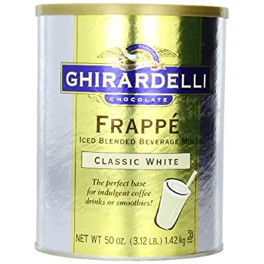 Ghirardelli Beverage Mix, Classic White 50 oz.