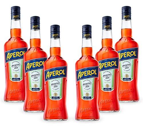 APEROL Aperetivo Italiano Sommer Bar Set: 6x1 Liter 11% vol