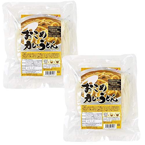おこめカレーうどん 麺もスープもグルテンフリー 4食分 お米うどん 小麦粉不使用 無添加