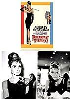 オードリー ヘプバーン ティファニー (Audrey Hepburn) ポストカード 3枚セット