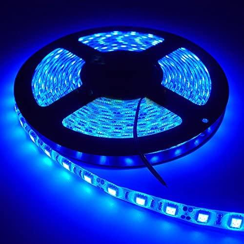 Super intense SALE New color Blue LED Strip Light iNextStation 16ft LEDs SMD5050 5m 12V 300